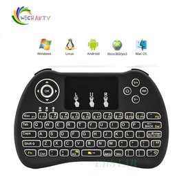 $enCountryForm.capitalKeyWord NZ - H9 2.4GHz Wireless Mouse Gaming Keyboards Colorful Backlit Remote Control for S905X S912 Android TV Box A95X X96 Q BOX