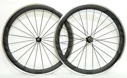 wheelset alloy clincher 2019 - Free shipping by EMS alloy brake surface carbon wheels 700C 50mm depth 23 mm width road bike wheelset with Novatec 271 3