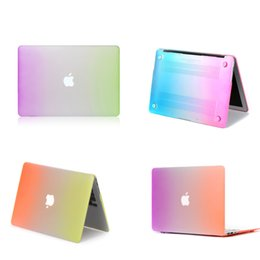"$enCountryForm.capitalKeyWord Canada - Plastic Hard Shell Cover Case [ Rainbow ] For Macbook Air Pro Retina 11.6"" 13.3"" 15.4"" A1370 A1465 A1369 A1466 A1278"