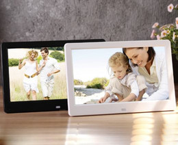 Discount electronic picture frame video 10 inch electronic photo album digital photo frame hot style electronics multi-function video player resolution 1024 * 600 picture