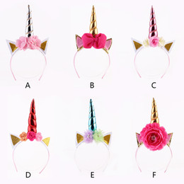 China Glitter Metallic Unicorn Headband,For Girls and Kids DIY Felt Unicorn Horn Headband,Unicorn Party Hair Accessories supplier glitter accessories suppliers