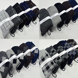 terry cotton NZ - S005 England Style Men's Cotton Socks Winter Terry Casual Socks High Quality Breathable Fashion Sports Socks