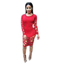 Femmes Sexy Portant Des Vêtements Moulants Pas Cher-S-XL New Arrival Bodycon Dress Summer 2016 Robes de soiree noir rouge Sheer Robe de sport sexy extensible Vêtements de taille grande q170716