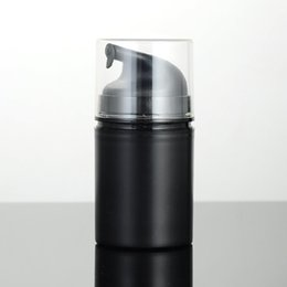 White airless pump online shopping - PP ml airless bottle white clear color airless pump for lotion vacuum bottle fast shipping F20171099