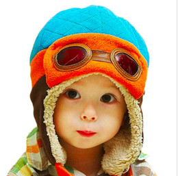 67941a8dfc361 Toddlers Cool Baby Boy Girl Kids Infant Winter Pilot Warm Cap Bomber Hat  Head ciucumtance from 47-52cm 4 Years 90g