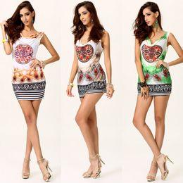 $enCountryForm.capitalKeyWord NZ - Cheap sexy sleeveless T-shirt bag hip tight halter dress feather bedding LYQ262