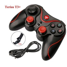 $enCountryForm.capitalKeyWord Canada - Wireless Bluetooth 3.0 Game Controller Terios T3 For Android Smartphone Tablet PC With TV Box Holder T3+ Remote Gamepad Joystick