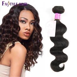 $enCountryForm.capitalKeyWord Australia - Wholesale Fastyle Malaysian Body Wave Extensions Free Shipping UNPROCESSED Brazilian Peruvian Indian Virgin Human Hair Bundles Top Quality
