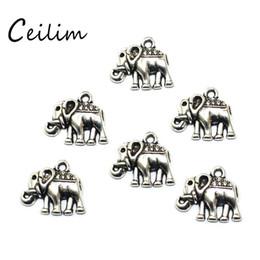 $enCountryForm.capitalKeyWord NZ - 20 Pieces Lot 17*14mm Charm Elephant Accessory Jewelry Handmade Bracelets Neckalce Pendant Elephant DIY Supplies For Jewelry