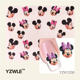 Panda nail art stickers online panda nail art stickers for sale wholesale yzwle 1 sheet new design 3d water transfer printing nail art sticker decals cute panda diy nail decoration styling tools prinsesfo Gallery