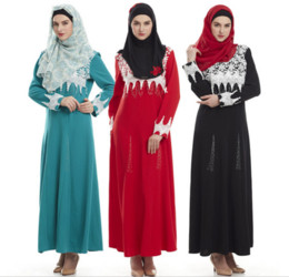 $enCountryForm.capitalKeyWord NZ - Abaya turkish cotton women Muslim Dress Islamic clothes for women robe Dubai dress gown D188