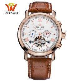 $enCountryForm.capitalKeyWord UK - Top Brand OYW Fashion Mechanical Watch Men Wristwatches Waterproof Date Day Display Watch Male Man Analog Leather Strap Relogios