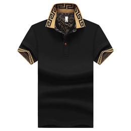 fdb00922784 plus size M~5XL Men s Brand Polo Shirt For Men Designer Polos Men Short  Sleeve shirt jerseys golftennis clothing XZ-041