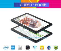$enCountryForm.capitalKeyWord Canada - Wholesale- New Arrival 10.6'' Cube I7 Book Windows 10 Tablet PC IPS 1920x1080 Intel Core M3-6Y30(Skylake) Dual Core 4GB 64GB Camera Type C