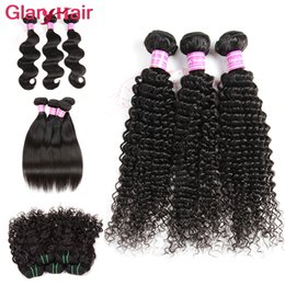 Corps De Machine À Eau Pas Cher-Malaisie Kinky Curly Hair Weave Bundles Peruvian Body Wave Hair Weaves Indian Mink Brazilian Straight Virgin Hair Bundle Deals Water Wave