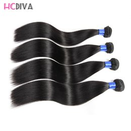 online shopping Brazilian Virgin Hair Unprocessed Human Hair Grade A Natural Straight Hair Weave Product Bundles Factory Cheap well sale