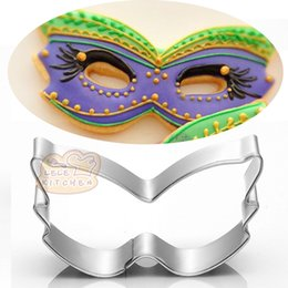 $enCountryForm.capitalKeyWord Australia - 10pcs party mask cookie cutter Metal biscuit tool Fruit die cut Sushi stamp sandwich mold baking cake pastry tools cupcake topper