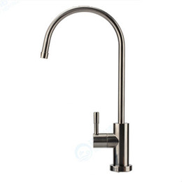 Chinese  Wholesale- Lead Free  Osmosis Reverse Nickel Brushed Water Filtration Tap Kitchen Faucet manufacturers