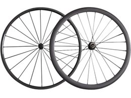 24 bicycle wheelset online shopping - Full Carbon MM Clincher Tubular Road Carbon Bicycle Wheels Powerway R13 Hub Fiber Road Bike Carbon Wheelset