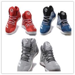 fcb6ff00bdda 2017 Best Quality D rose 7 Boost Basketball Shoes Men Boosts Hot Sale Derrick  Rose shoes 7 VII Florist City White Boost Sports Sneakers Size
