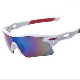 2017 nueva llegada diseñador de la marca espejo de moda gafas de sol de montar al aire libre UV400 Vintage gafas de sol deportivas a prueba de viento con envío gratis