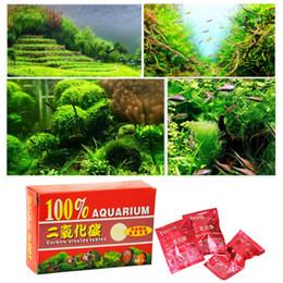 Aquarium Co2 NZ - 1 Box 36pcs Aquarium CO2 Carbon Dioxide Tablets For Plants Aquarium Fish Tank Diffuser Plant Aquario Accessory New