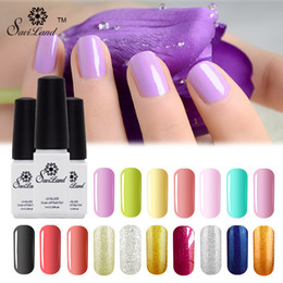 Base Un Gel Uv Pas Cher-Vente en gros-Saviland 1pcs One Step Gel ongles 3 en 1 Pas besoin de base de base vernis Coat Soak Off UV / LED couleurs Gel Polish Nail Art
