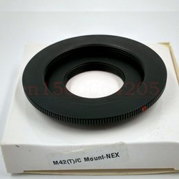 Nex e mouNt online shopping - M42 C Mount Movie Lens to NEX E Mount Adapter Dual Purpose M42 C NEX