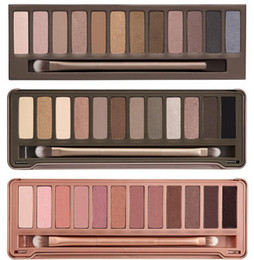 $enCountryForm.capitalKeyWord Canada - Newest NUDE 5 New Make up Shimmer Makeup Eye Shadow NUDE 12 color eyeshadow palette 15.6g High quality NUDE 1.2.3.