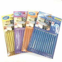 $enCountryForm.capitalKeyWord Australia - 12pcs bag Sani Pipeline Kitchen Toilet Bathtub Decontamination Rod Sticks Sewer Cleaning and Deodorizer Unscented Sani Sticks Drain Cleaner