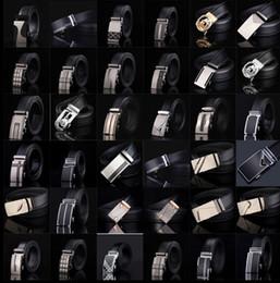 Cinto de couro dos homens Moda cinta fivela automática para o Luxo de Negócios casual s Cinto Cintura Cintura Cinto 77 estilos KKA1361