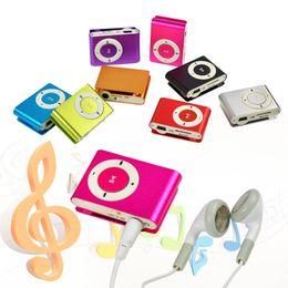 $enCountryForm.capitalKeyWord Canada - Wholesale- Mini Clip-on MP3 Player with Micro TF SD Slot Portable Metal USB 2.0