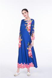 0f3fa62df3 Digital printing muslim dress roupas arabes para mulher robe dubai vestidos  de festa vestidos plus size abayas free DHL