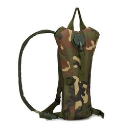 TacTical gear pack online shopping - 2018 Camping Hiking drinking Water Bags Bicycle Cycling Climbing Outdoor Sports gear L Hydration gear Tactical Assault Backpack Pouch