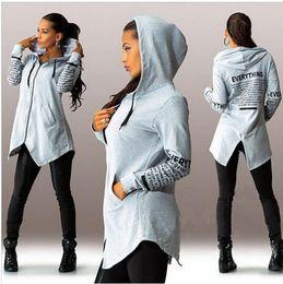 Discount Grey Hooded Cardigan Women | 2017 Grey Hooded Cardigan ...