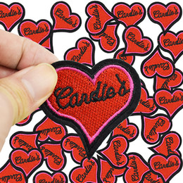 Embroidered Letter Iron Patches Canada - Diy Letter love patches for clothing iron embroidered patch applique iron on patches sewing accessories badge sticker on clothes