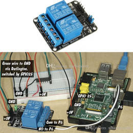 module dsp NZ - 5V 2 Channel Relay Module for Arduino PIC ARM DSP AVR Electronic Raspberry B00246 JUST