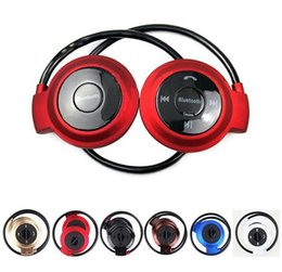 Speaker Ear Australia - Mini 503 50pcs Sport Bluetooth Speaker Headset Wireless Headphones mini-503 Hifi Music Player For iPhone 6 Plus S7 edge S5 Note 4 5S