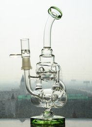 Ball recycle online shopping - Colored Hitman One Jet Ball Recycle Glass Bongs Bubbler Water Pipe Oil rig with mm joint