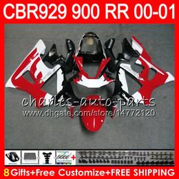 Honda 929rr online shopping - Body For HONDA CBR RR CBR900RR CBR929RR CBR RR TOP Red white NO15 CBR929 RR CBR900 RR CBR RR Fairing kit Gifts
