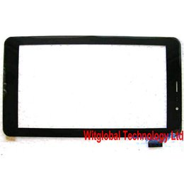 """Discount tm tablet - Wholesale- Original New 7"""" teXet TM-7058 X-pad STYLE 7.1 3G Tablet touch screen Digitizer Touch panel Glass Sensor"""