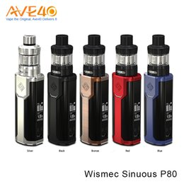 Power outs online shopping - Wismec P80 Kit Wismec Sinuous P80 Starter Kit Powered by Single Cell w Out Put with Elabo Mini Tank ml Capacity