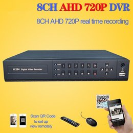 8ch Dvr Hd Canada - LLLOFAM HDMI 1080p CCTV 8Channel DVR NVR hybrid Full HD AHD 720P 25fps realtime Recording 8ch surveillance security DVR recorder