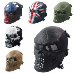 $enCountryForm.capitalKeyWord UK - Zombies Skeleton Masks Masquerady Mask For Man Halloween Walking Dead Field Armaments Customer Party Mask Military Solider CS Face Mask