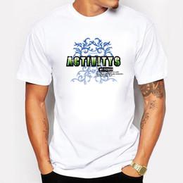 31e44d7baf7cd Ropa-Tiendas-Actividades Baratas Camisetas Hombre Algodón Verano Manga  Corta Swag Fitness Camiseta Chicos Mi Flor Camisetas Hombre