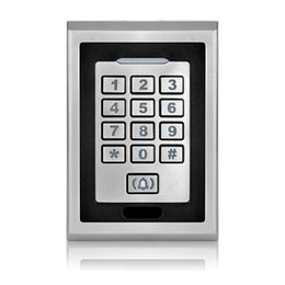 Contactless Reader UK - 8000Users Metal standalone rfid reader Single Door Access Control Keypad Contactless Door Access System for Office