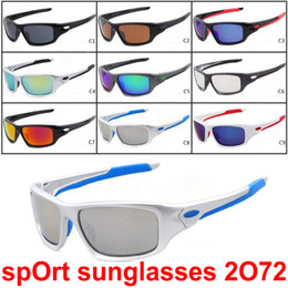 Designer sunglasses Dhl online shopping - 2017 Hot Sale Popular Sunglasses for Men and Women Outdoor Big Frame Designer Sport Sunglasses cycling Sunglasses colors DHL Shipping