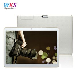 Tablet Inch 4g NZ - Wholesale- 9.6 Inch Original 3G and 4G LTE phone tablet pc Android Octa Core Android tablet 5.1 4GB RAM 64B ROM GPS Tablet pcs 7 8 9 10