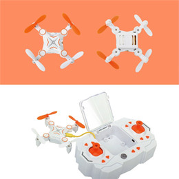 Micro Helicopter Toy Australia - Mini Foldable Drone Micro Pocket 4CH 6Axis Gyro Switchable Controller RC Helicopter Kids Toys 901 Portable Quadcopter