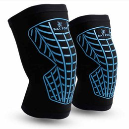 Barato Aranha Legging-New Spider Web Leg Wrappings Outdoor Riding Hard-Wearing Kneecap High Elastic Anti-Outono Patinação no gelo Kneelet Lycra Tela Tela Kneecap